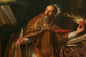 Augustinus en Luther