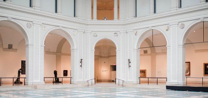 museum zonder bezoekers
